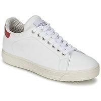 Sko Dame Lave sneakers Meline AIMEE Hvid / Rød