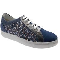 Sko Dame Lave sneakers Calzaturificio Loren LOC3787bl blu