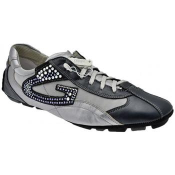 Sko Herre Lave sneakers Alberto Guardiani  Blå