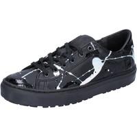 Sko Dame Lave sneakers Date AB561 Sort