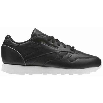Sko Dame Lave sneakers Reebok Sport CL Lthr Hvid, Sort
