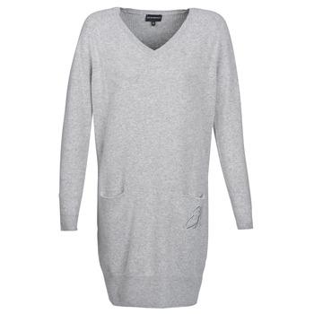textil Dame Korte kjoler Emporio Armani CROWA Grå