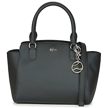 Tasker Dame Skuldertasker Lacoste DAILY CLASSIC SHOPPING BAG Sort