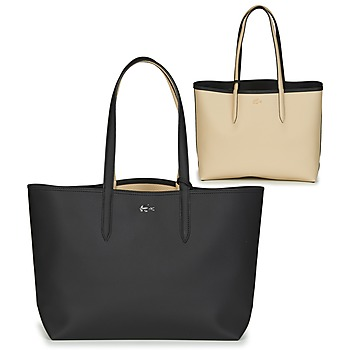 Tasker Dame Shopping Lacoste ANNA Sort / Beige