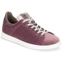 Sko Dame Lave sneakers Victoria DEPORTIVO TERCIOPELO Violet