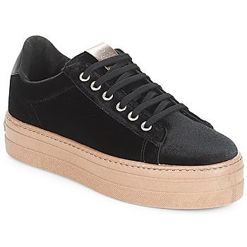 Sko Dame Lave sneakers Victoria DEPORTIVO TERCIOPELO/CARAM Sort