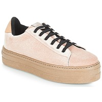 Sko Dame Lave sneakers Victoria DEPORTIVO TERCIOPELO/CARAM Beige