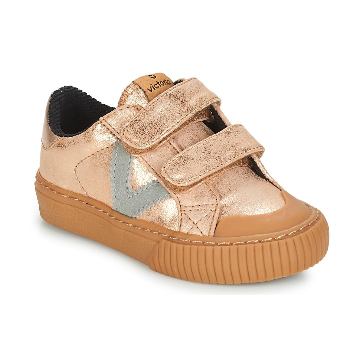Sneakers til børn Victoria  DEPORTIVO VELCRO METALIZAD