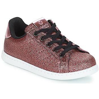 Sko Pige Lave sneakers Victoria DEPORTIVO METAL CREMALLERA Pink