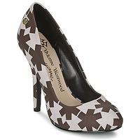 Sko Dame Højhælede sko Vivienne Westwood MAGGIE II Sort / Hvid