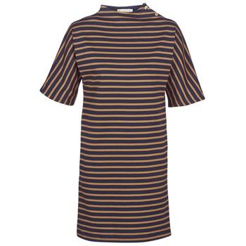 textil Dame Korte kjoler Petit Bateau TUESDAY Marineblå / Gul