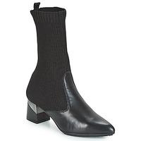 Sko Dame Chikke støvler Hispanitas LINO Sort