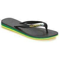 Sko Herre Flip flops Havaianas Brasil Layers Sort