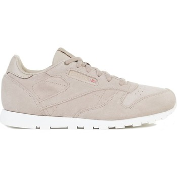Sko Børn Lave sneakers Reebok Sport CL Leather Mcc Beige