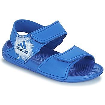 Sko Børn Sandaler adidas Performance ALTASWIM C Blå