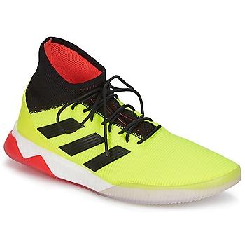 Sko Herre Fodboldstøvler adidas Performance PREDATOR TANGO 18.1 TR Gul / Sort / Rød