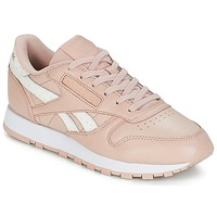 Sko Dame Lave sneakers Reebok Classic CLASSIC LEATHER Pink / Hvid