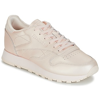 Sko Dame Lave sneakers Reebok Classic CLASSIC LEATHER Pink