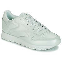 Sko Dame Lave sneakers Reebok Classic CLASSIC LEATHER Grøn