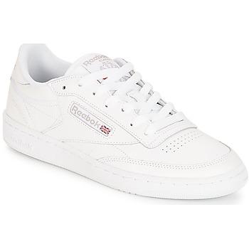 Sko Dame Lave sneakers Reebok Classic CLUB C 85 Hvid