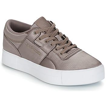 Sko Dame Lave sneakers Reebok Classic WORKOUT LO FVS TXT Grå