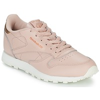 Sko Pige Lave sneakers Reebok Classic CLASSIC LEATHER J Pink