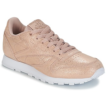 Sko Pige Lave sneakers Reebok Classic CLASSIC LEATHER J Guld