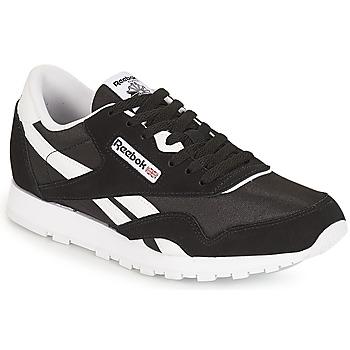 Sko Børn Lave sneakers Reebok Classic CLASSIC NYLON J Sort / Hvid
