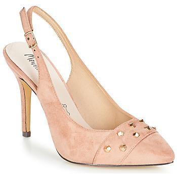 Sko Dame Sandaler Menbur DINITARSA Beige / Pink