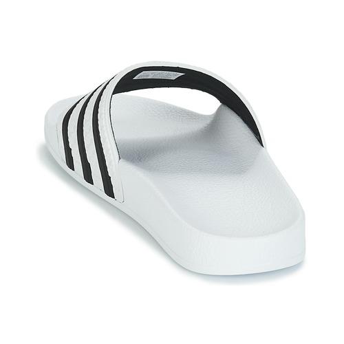 ADILETTE  adidas Originals  badesandaler    hvid / sort WsI7n