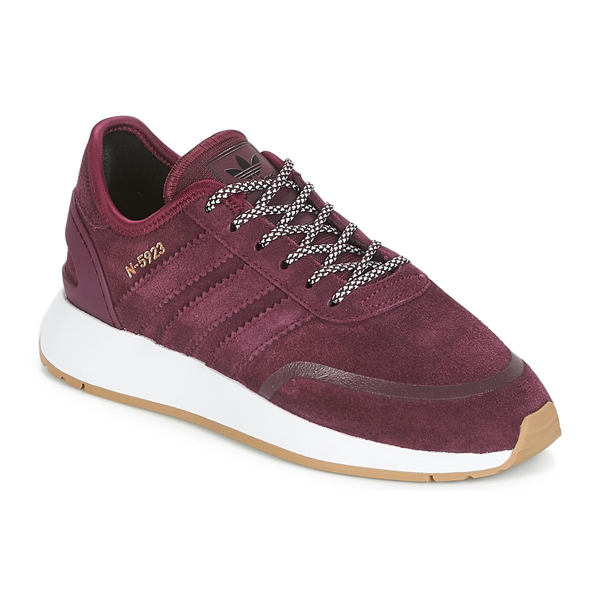Se Sneakers til børn adidas  N-5923 J ved Spartoo