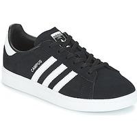 Sko Børn Lave sneakers adidas Originals CAMPUS C Sort