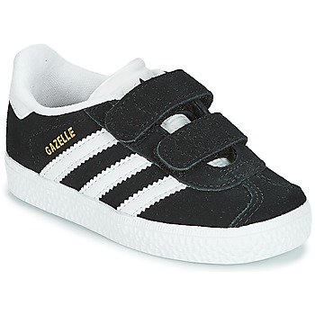 Sko Børn Lave sneakers adidas Originals GAZELLE CF I Sort