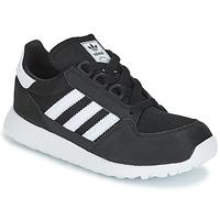 Sko Børn Lave sneakers adidas Originals OREGON C Sort
