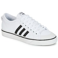 Sko Lave sneakers adidas Originals NIZZA Hvid / Sort