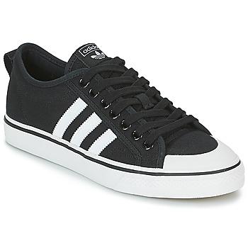 Sko Lave sneakers adidas Originals NIZZA Sort / Hvid