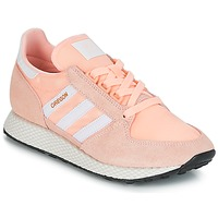 Sko Dame Lave sneakers adidas Originals OREGON W Pink