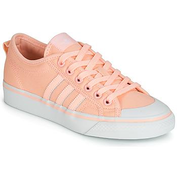 Sko Dame Lave sneakers adidas Originals NIZZA W Pink