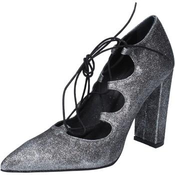 Sko Dame Højhælede sko Islo decolte argento glitter BZ216 Argento