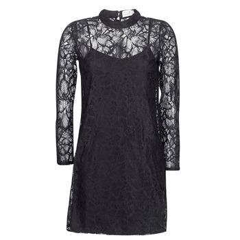 textil Dame Korte kjoler Molly Bracken ZEDEL Sort