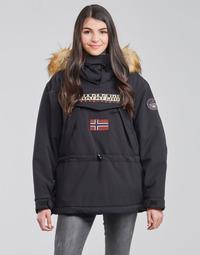 textil Dame Parkaer Napapijri SKIDOO Sort