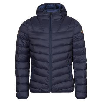 textil Herre Dynejakker Napapijri AERONS Marineblå