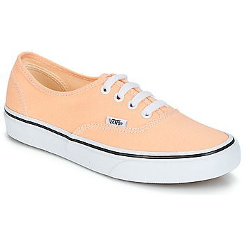Sko Dame Lave sneakers Vans AUTHENTIC Beige