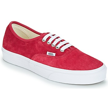Sko Dame Lave sneakers Vans AUTHENTIC Rød