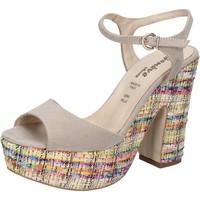 Sko Dame Sandaler Geneve Shoes Sandaler BZ890 Beige