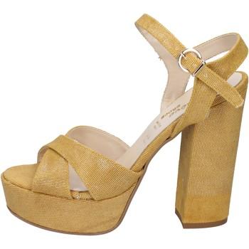 Sko Dame Sandaler Geneve Shoes Sandaler BZ892 Gul