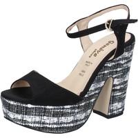 Sko Dame Sandaler Geneve Shoes Sandaler BZ893 Sort