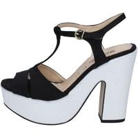 Sko Dame Sandaler Geneve Shoes Sandaler BZ897 Sort