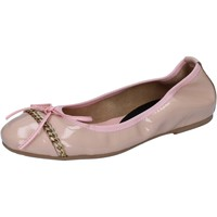 Sko Dame Ballerinaer Crown ballerine rosa cipria vernice BZ941 Rosa