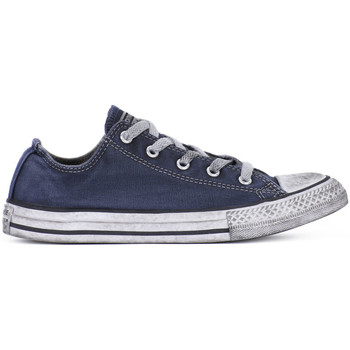 Sko Dreng Lave sneakers Converse ALL STAR LO CANVAS LTD NAVY Blu